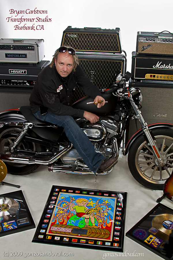Amps, Harley Davidson and Mutil Platinum, Gold Records