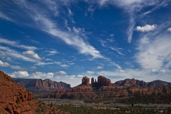 Taking a Deep Breath in Sedona Arizona