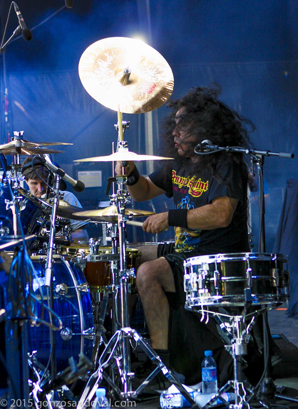 Wild and Fierce Drumming by Gonzo Sandoval of Armored Saint on the Win hands down world tour released on Metalblade records Released on  June 2, 2015! Our best ever…check it out for yourself!!!!
